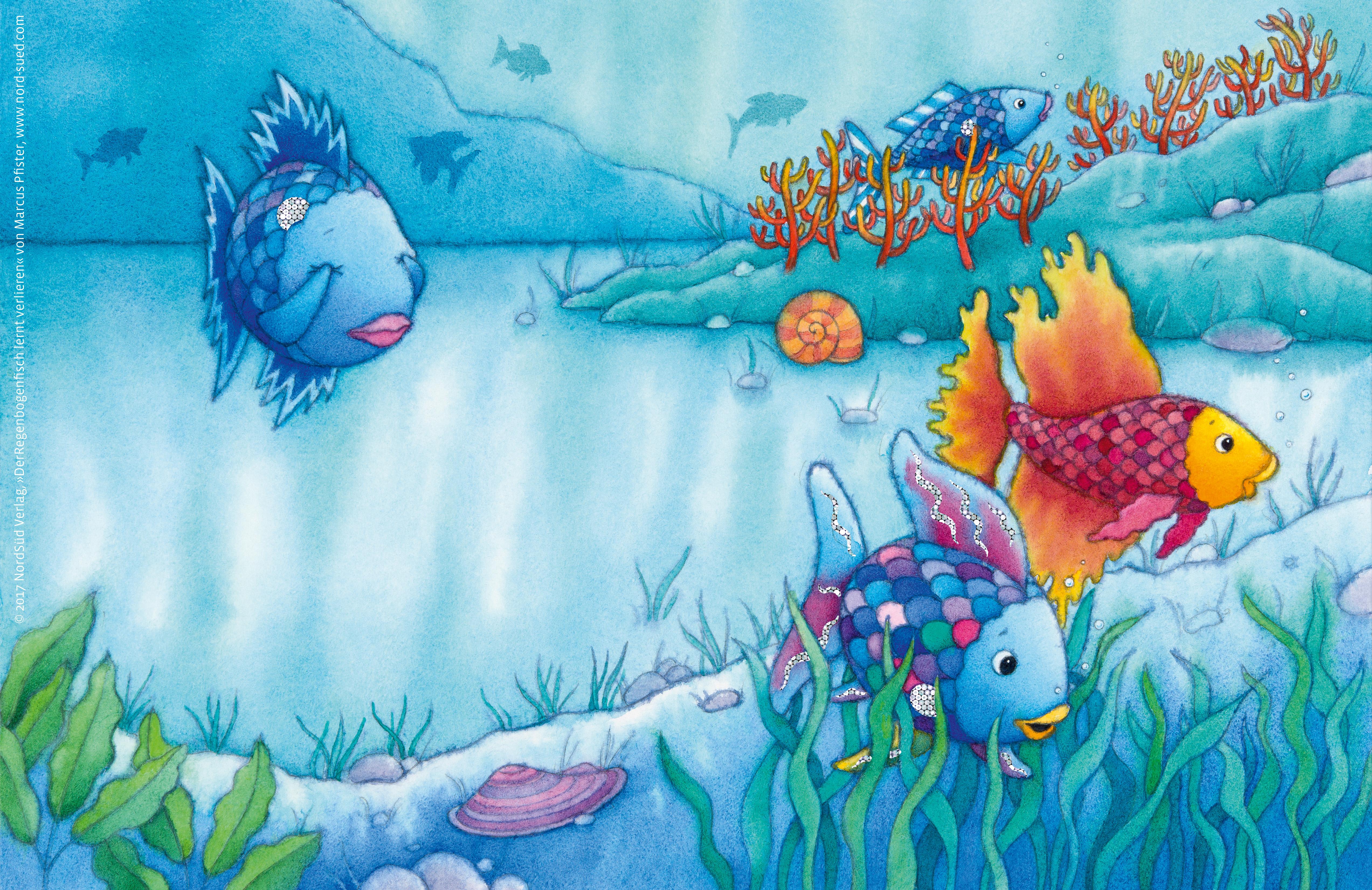 Wallpaper - Der Regenbogenfisch